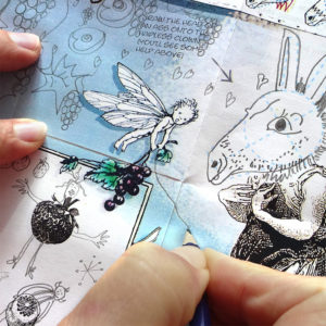 Drawing for well being - achieve some mindfulness by being swept along in the creative process