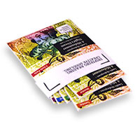Easy fold into booklets & handy pocket