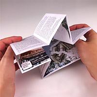 Flip the booklet