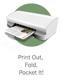 Print Out, Fold, & Pocket It