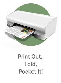 Print Out, Fold, & Pocket It