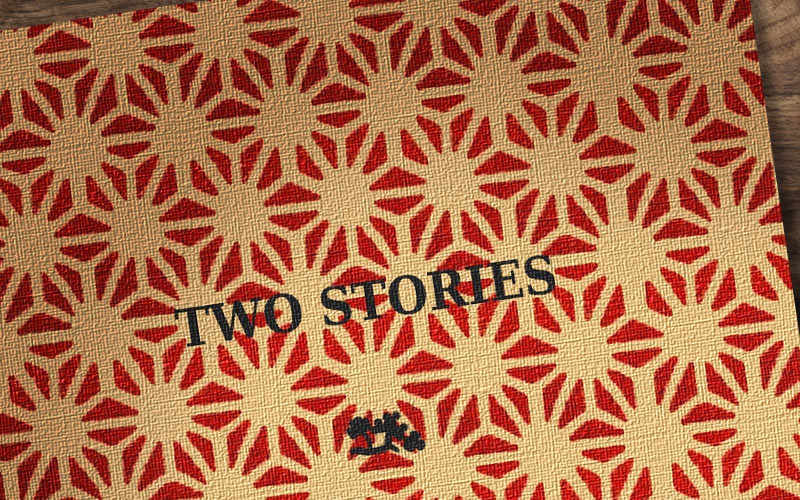 A Recreation of the cover of the book 'Two Stories' by Leornard & Virginia Woolf