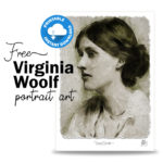 Free Virginia Woolf Portrait Art