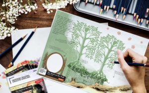 Reading and drawing for wellbeing