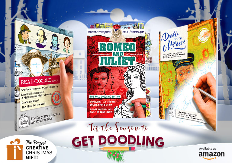 'Tis the Season to Get Doodling - The Perfect Creative Christmas Gift Books