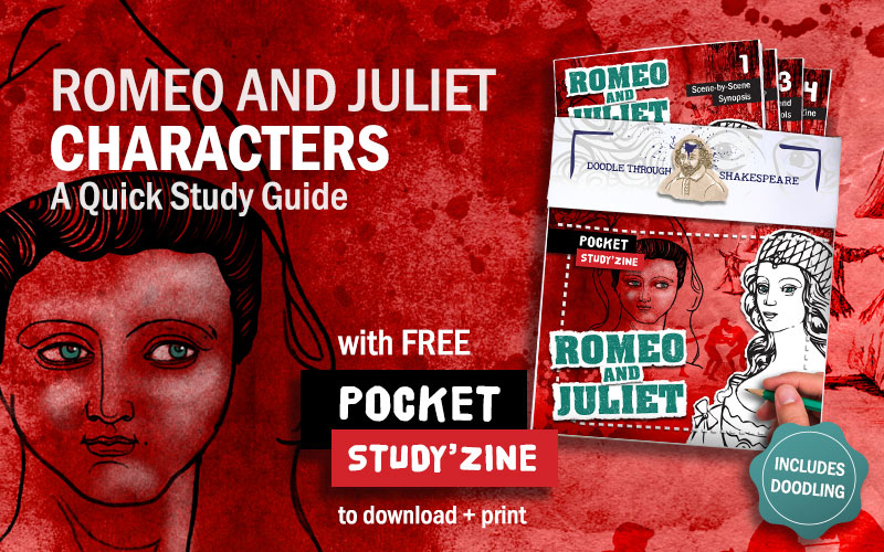 Romeo and Juliet Characters: A free pocket Study Guide to download and print