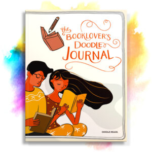 The Book Lover's Doodle Journal - The perfect creative book lover's journal