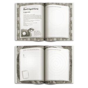 Inspiring book excerpts to get your creative journaling ideas flowing