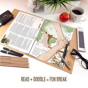 Read + Doodle = Fun Break