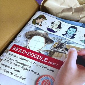 Unboxing Read + Doodle Book 1