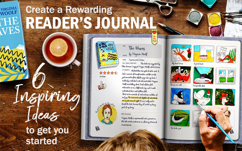 Create a rewarding Reader's Journal
